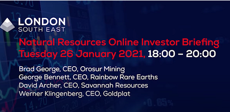 London South East's Natural Resources evening 26.01.21