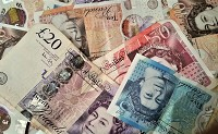 Sterling down on PM's no deal noise