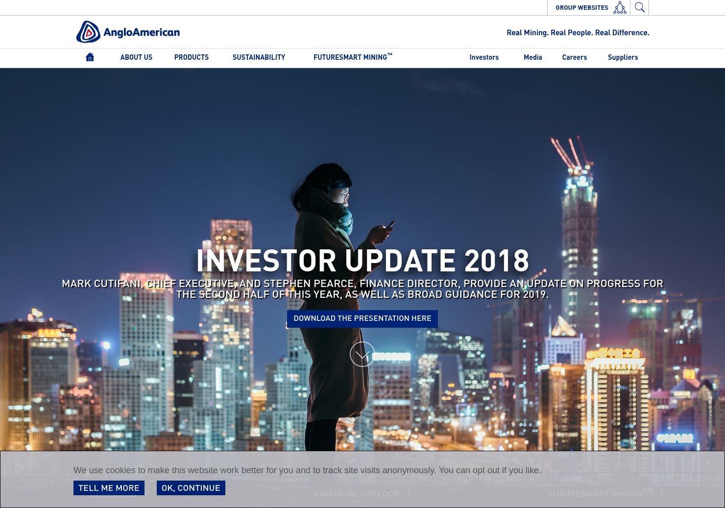 Anglo American Home Page