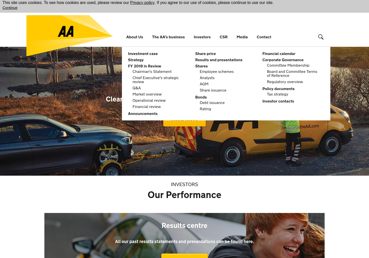 AA Home Page