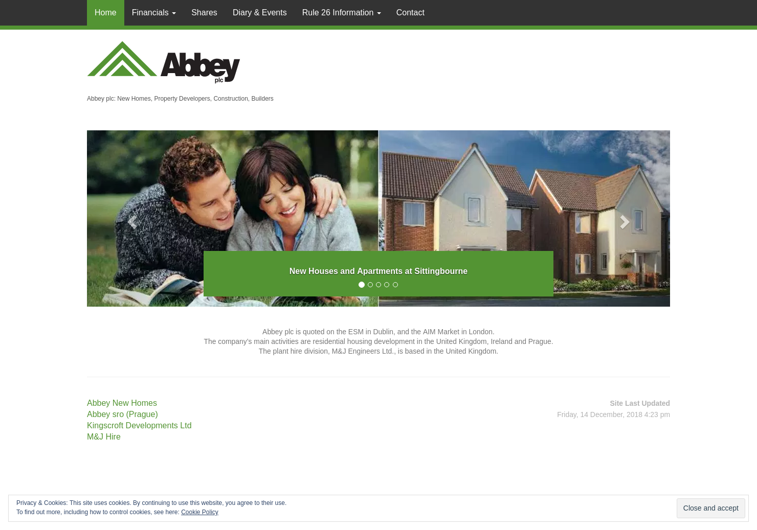 Abbey Home Page