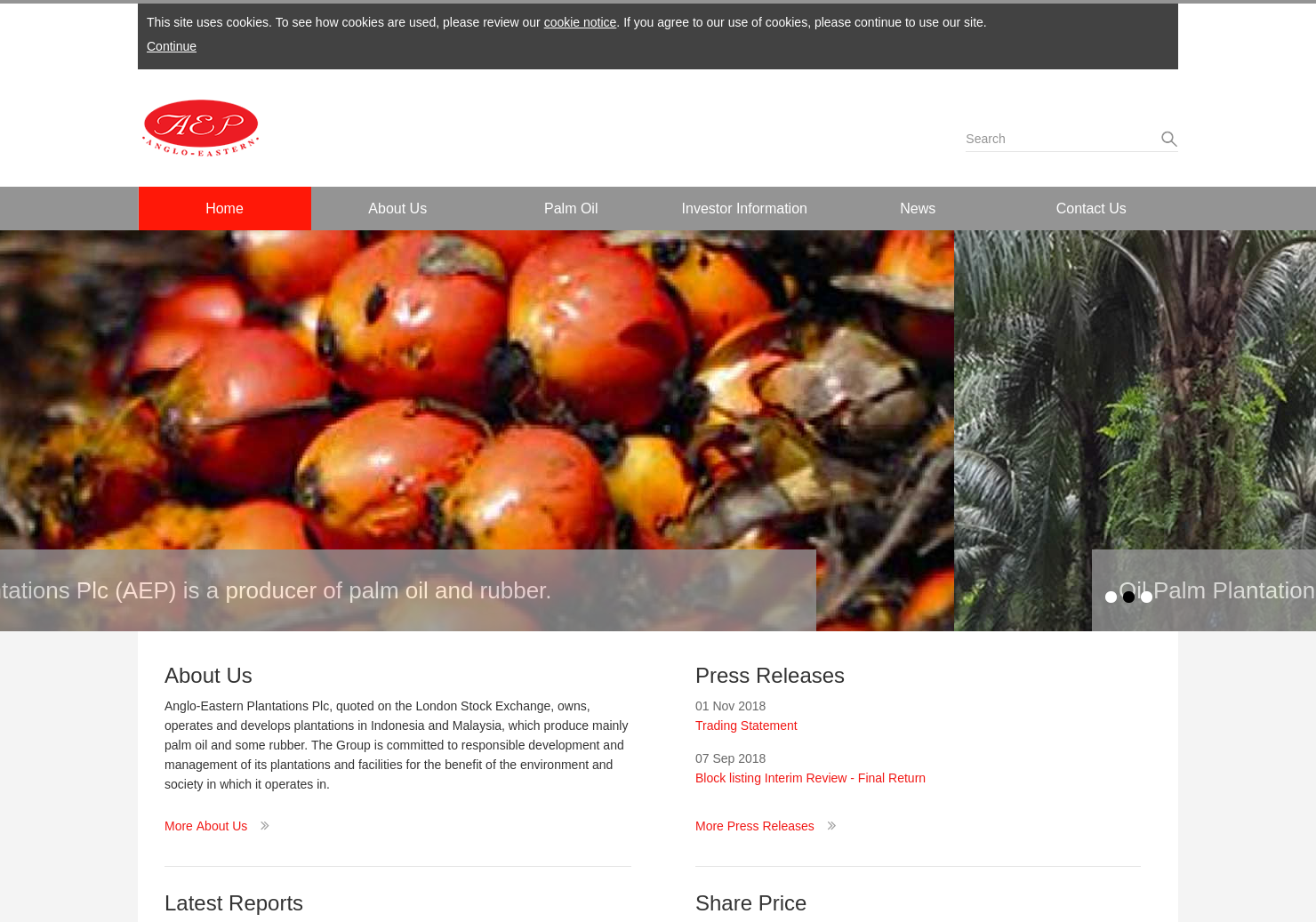 Anglo-Eastern Plantations Home Page