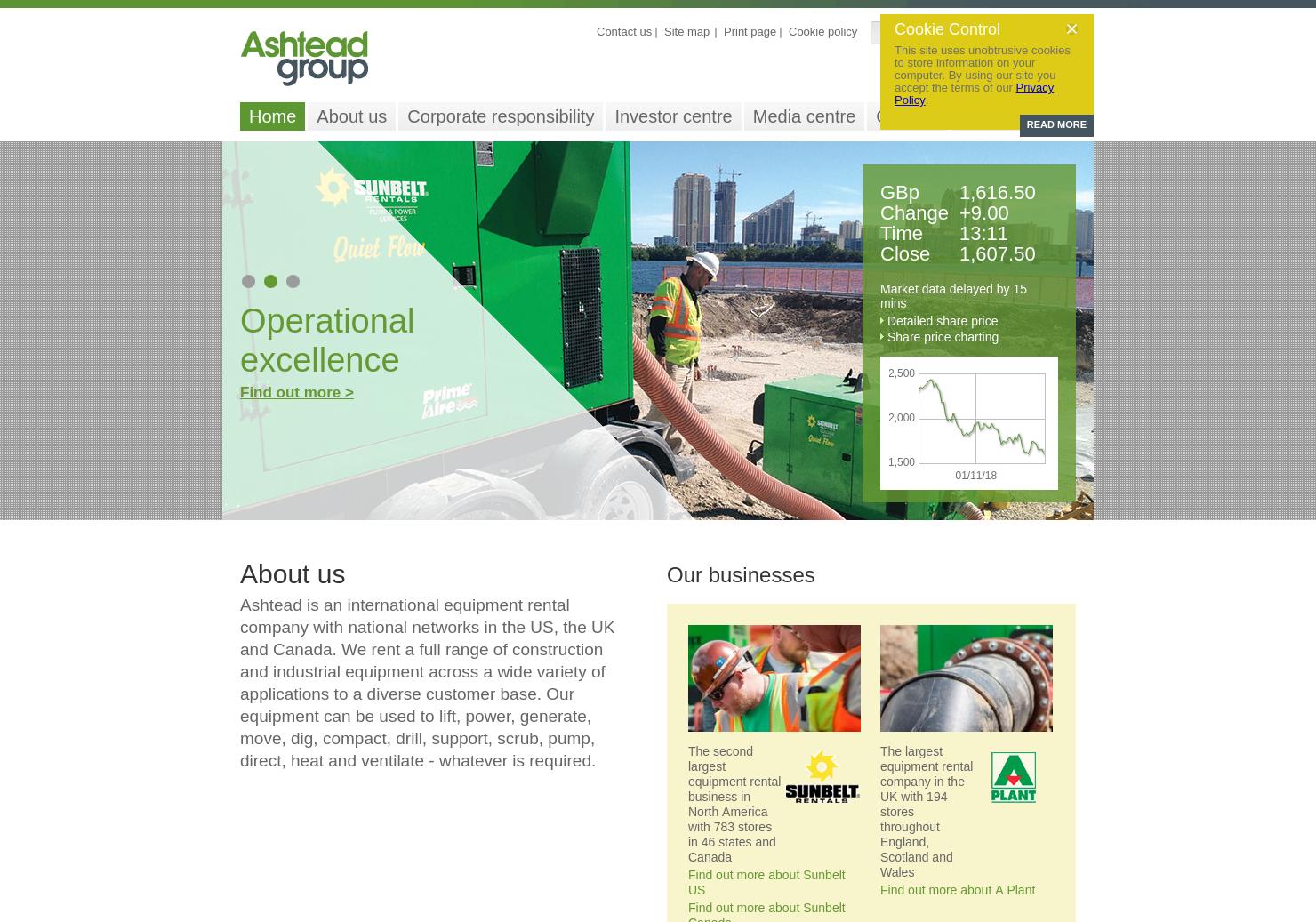 Ashtead Group Home Page