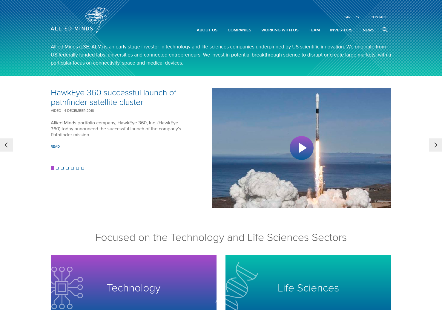 Allied Minds Home Page