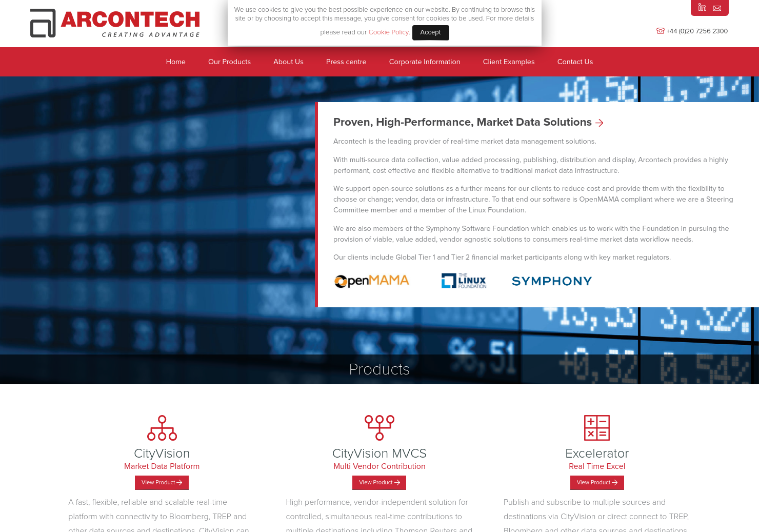 Arcontech Group Home Page