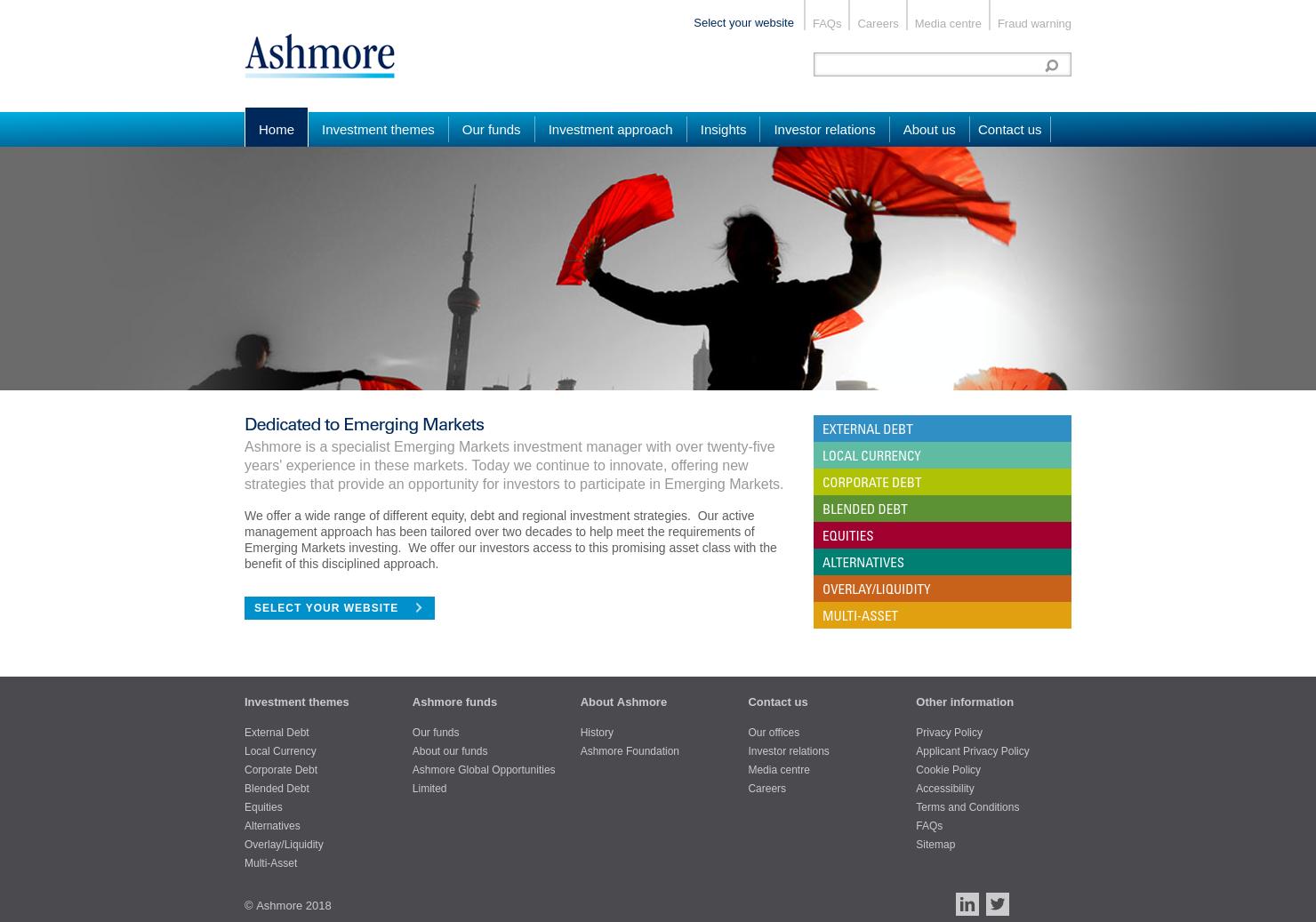 Ashmore Home Page