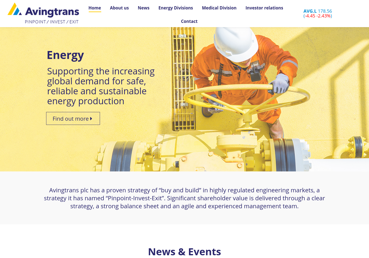 Avingtrans Home Page