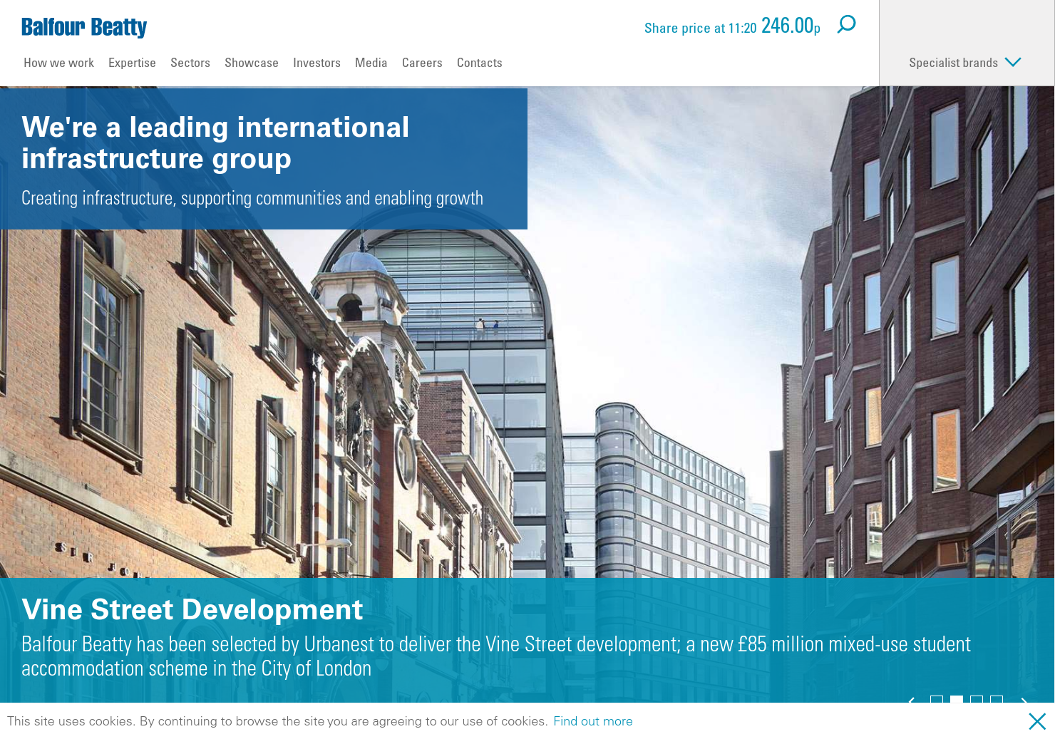 Balfour Beatty Home Page