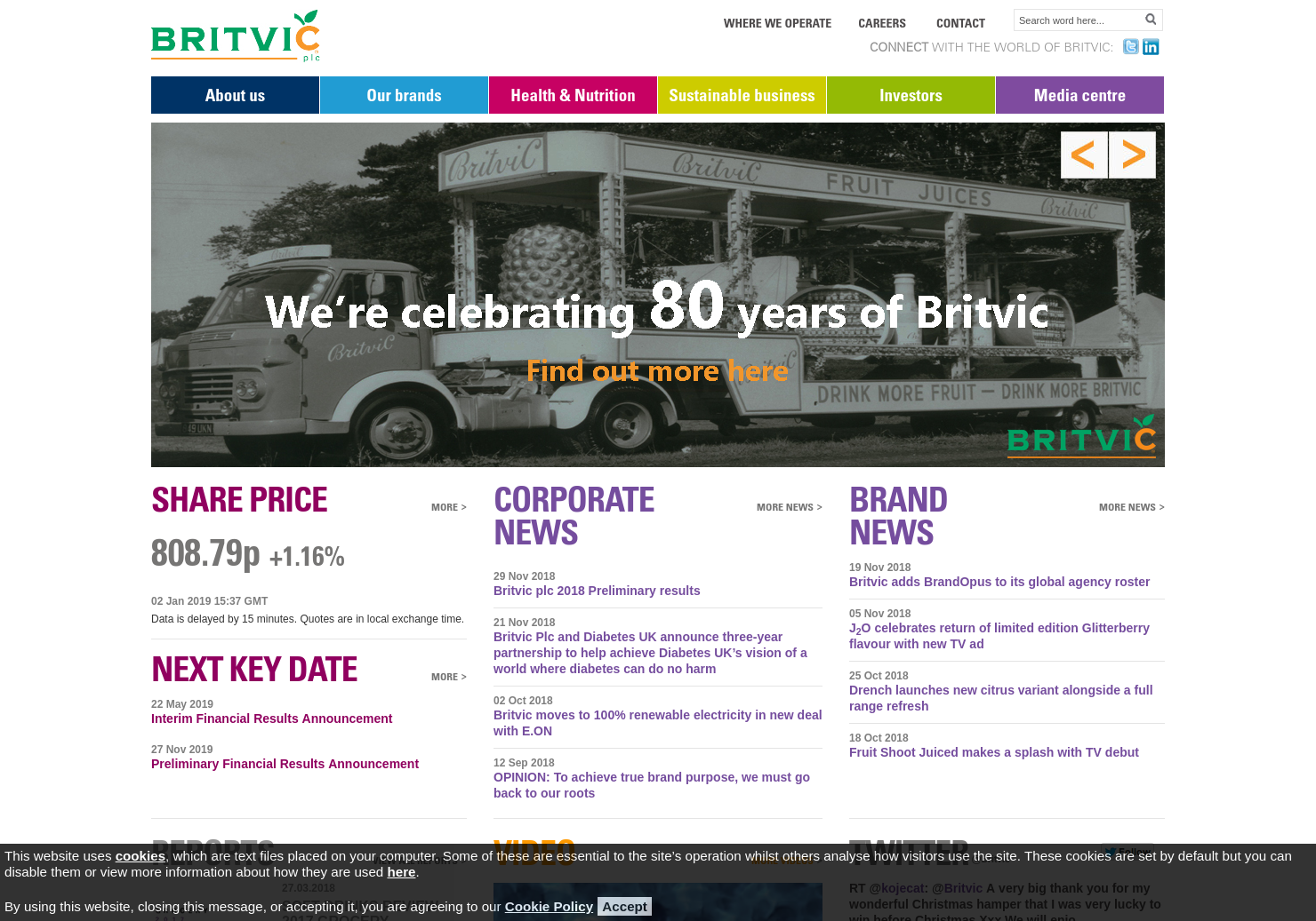 Britvic Home Page