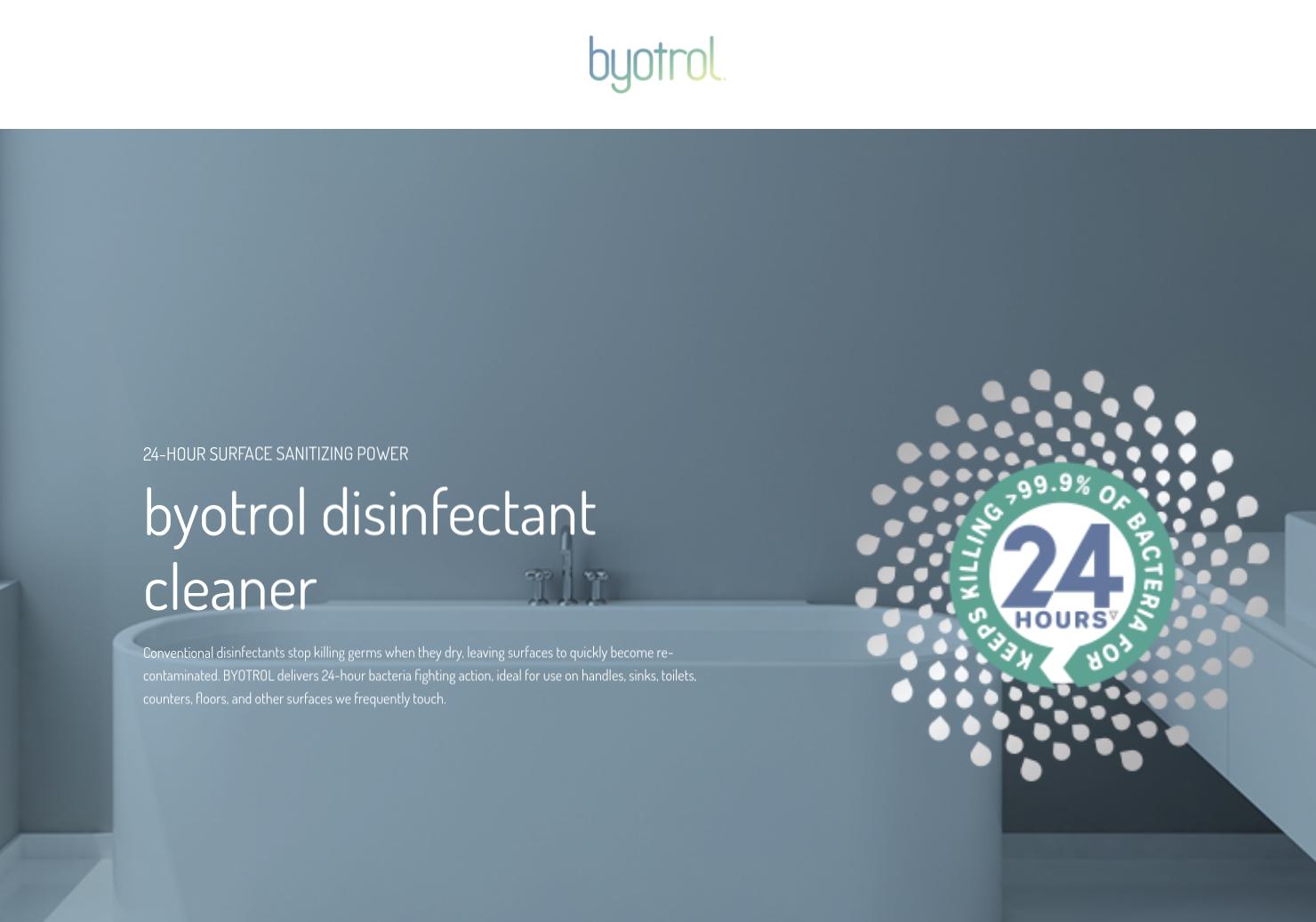 Byotrol Home Page