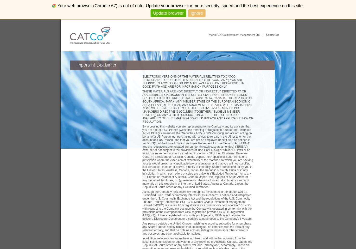 CATCo Home Page