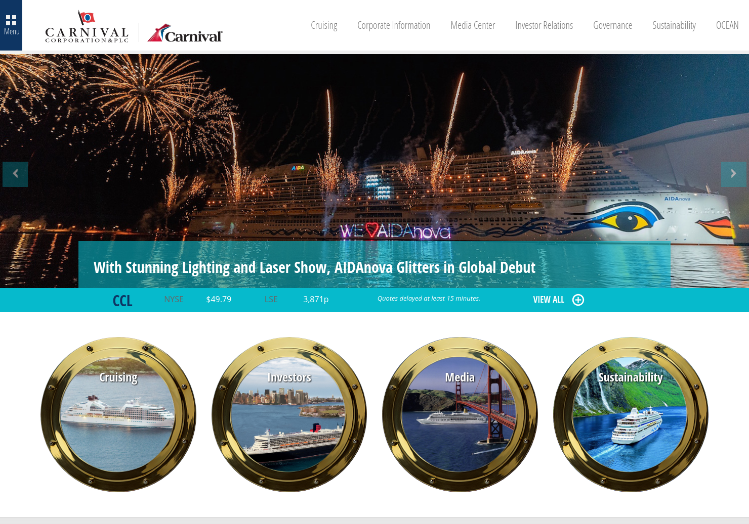 Carnival Home Page