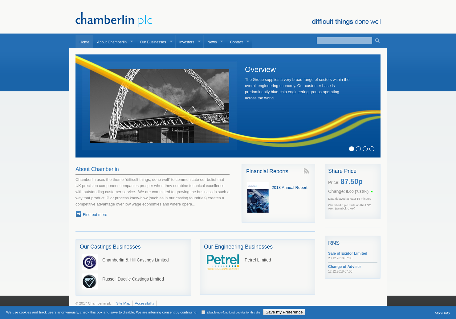 Chamberlin & Hill Home Page