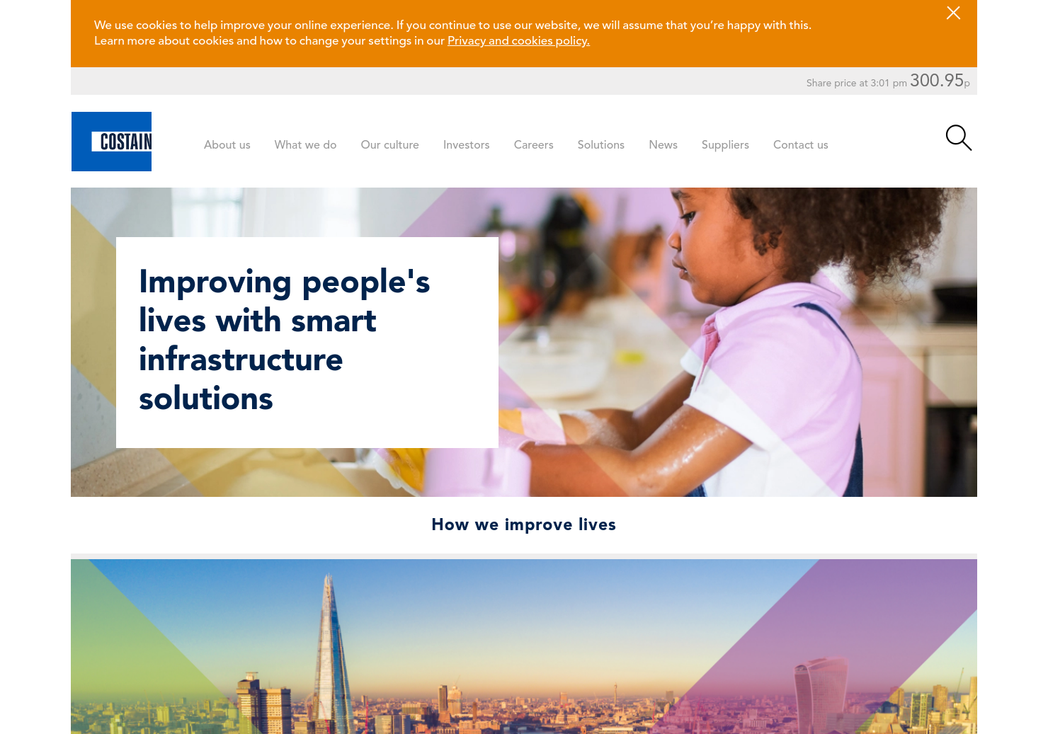 Costain Home Page