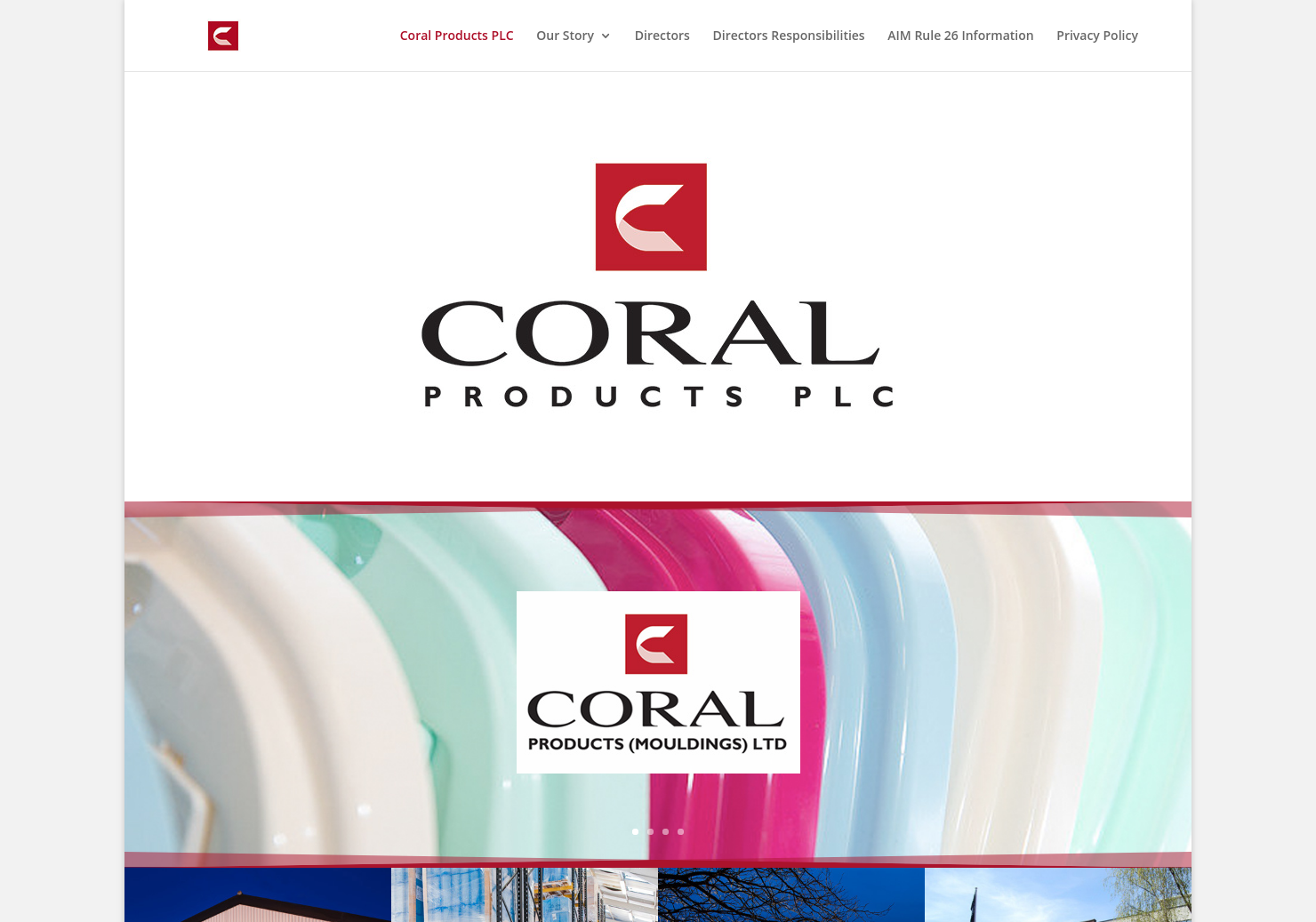 Coral Products Home Page