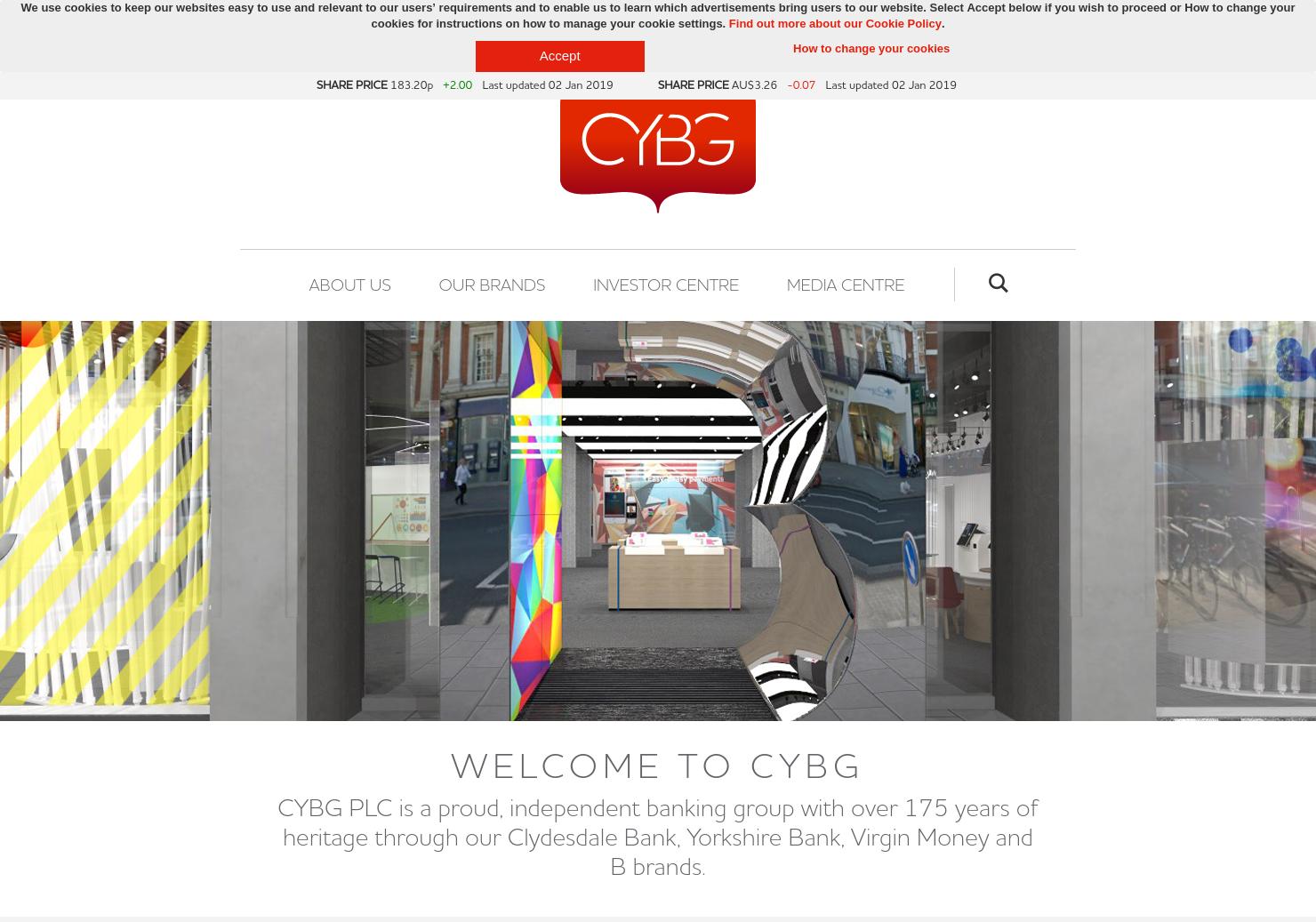 CYBG Home Page