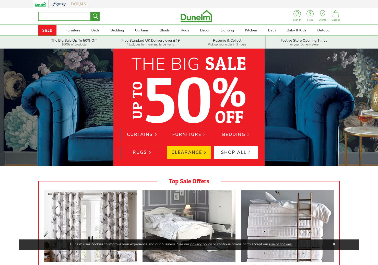 Dunelm Home Page