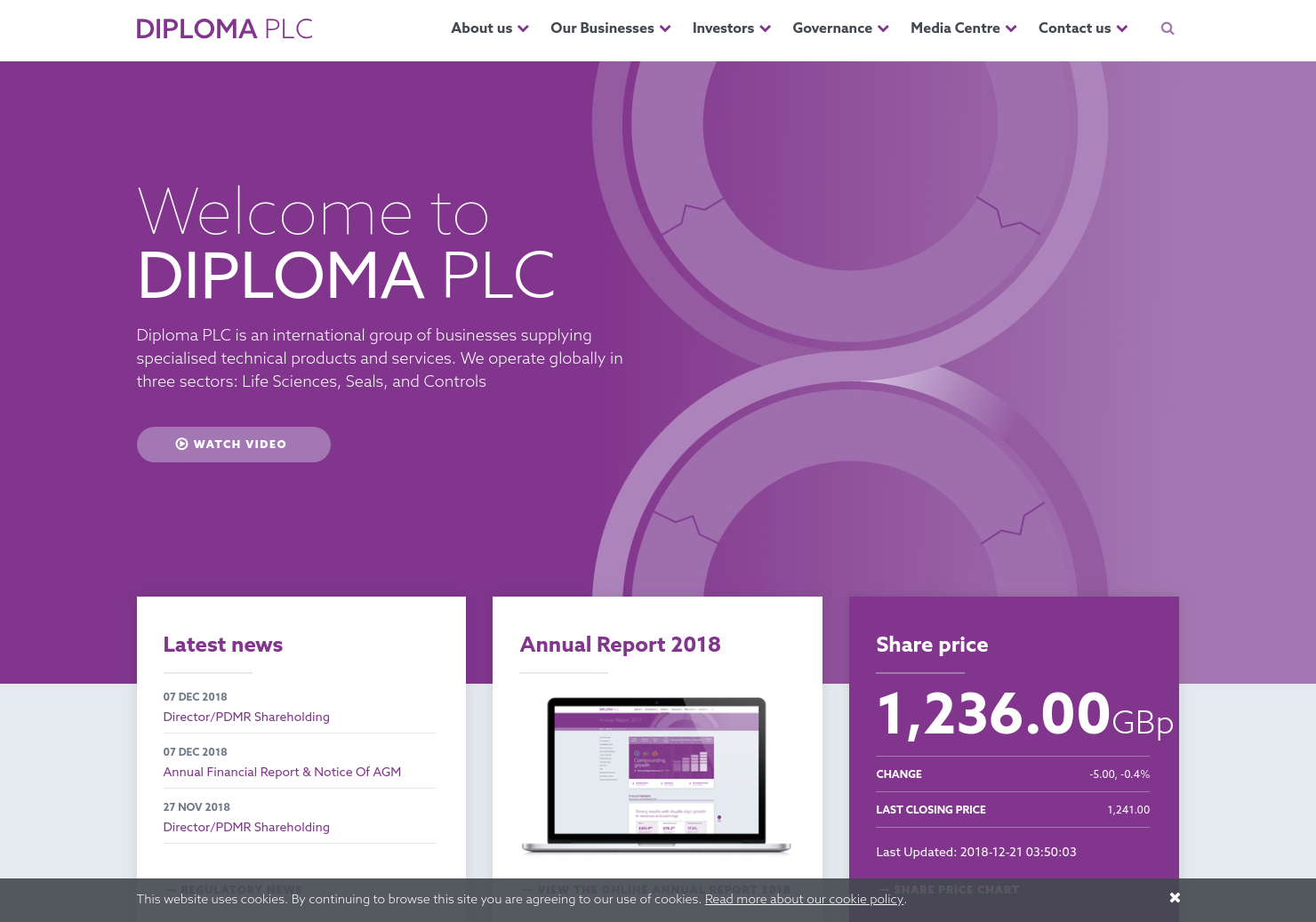 Diploma Home Page