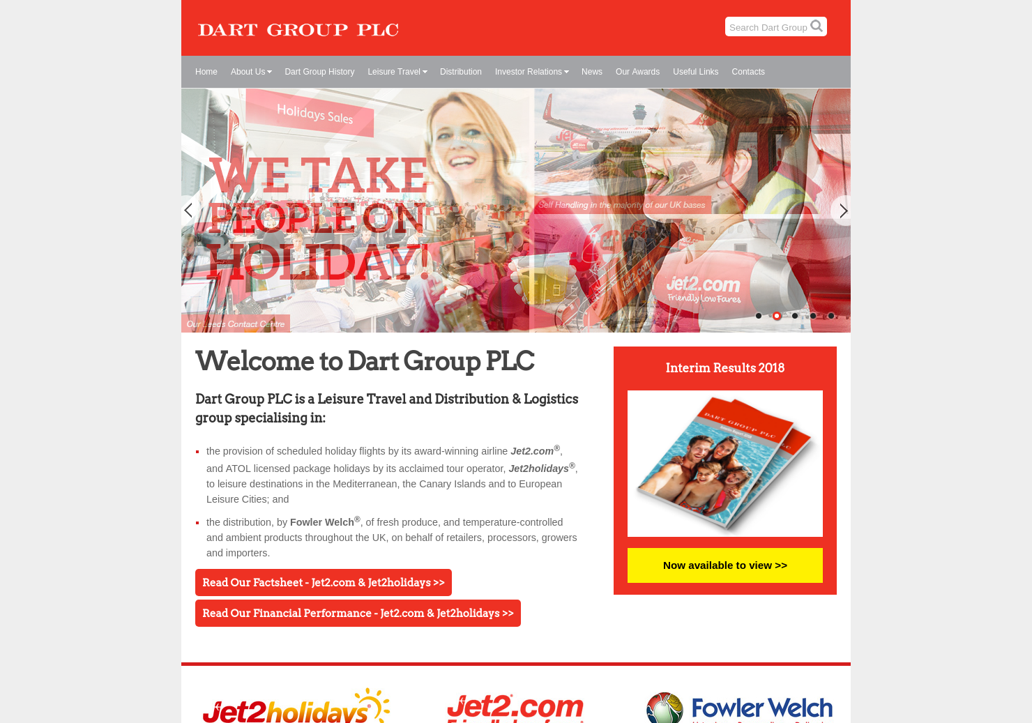 Dart Home Page
