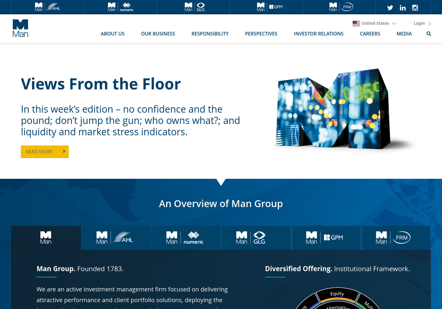 Man Home Page
