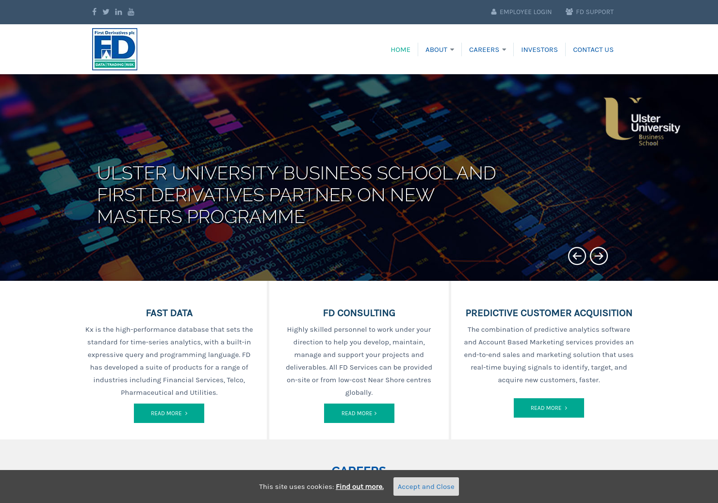 First Derivatives Home Page