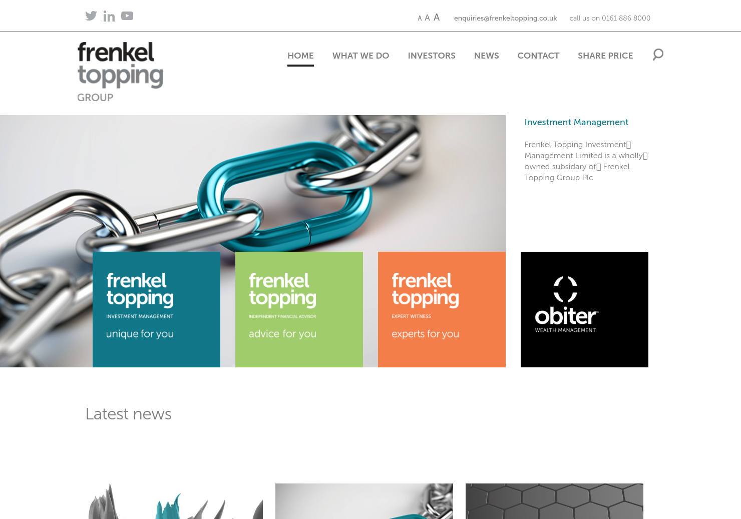 Frenkel Topping Home Page