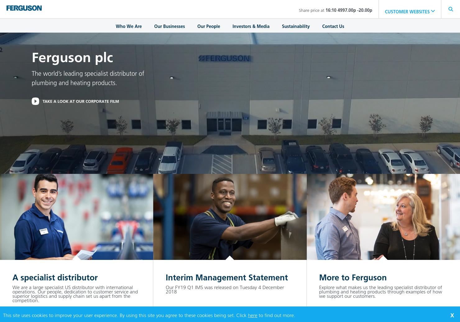 Ferguson Home Page