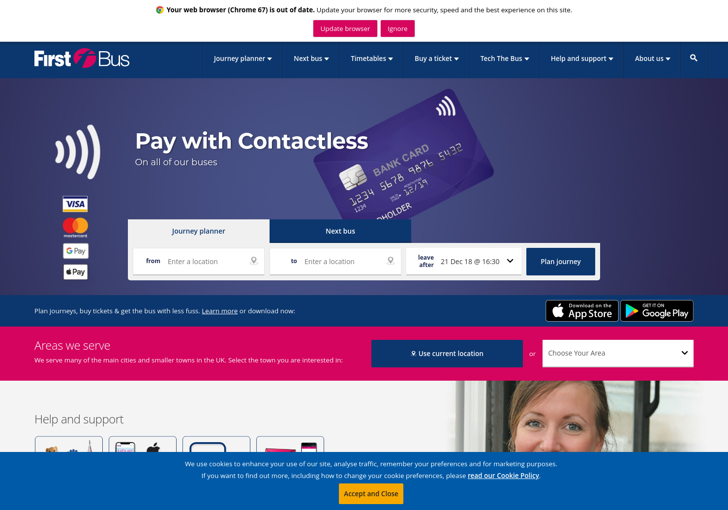 Firstgroup Home Page