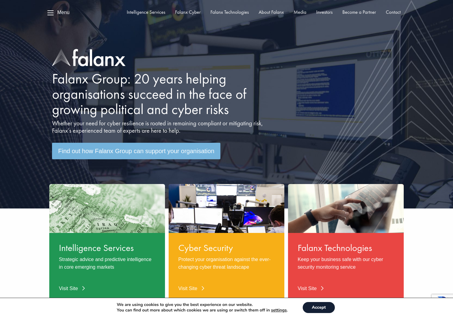 Falanx Group Home Page