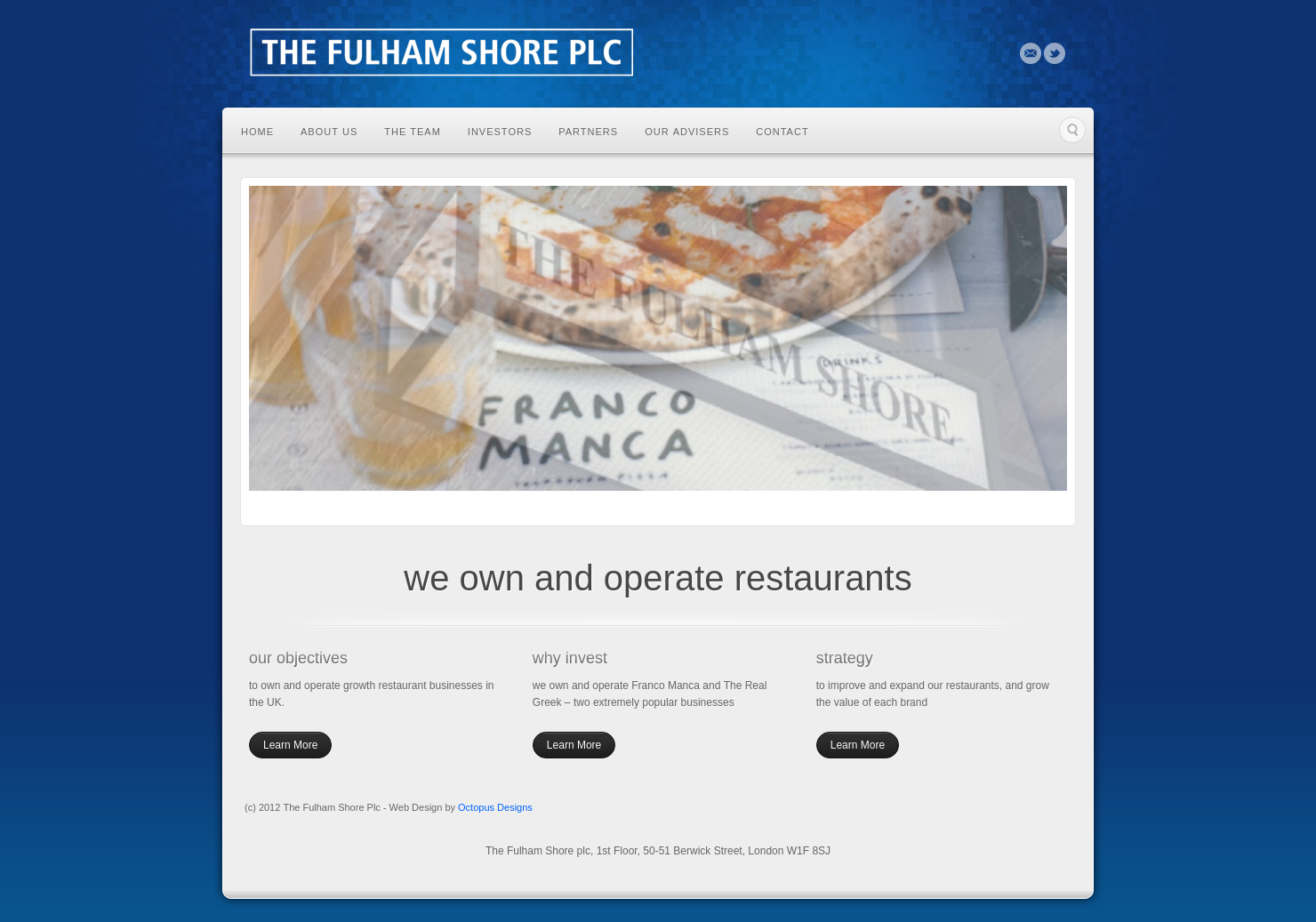 Fulham Shore Home Page
