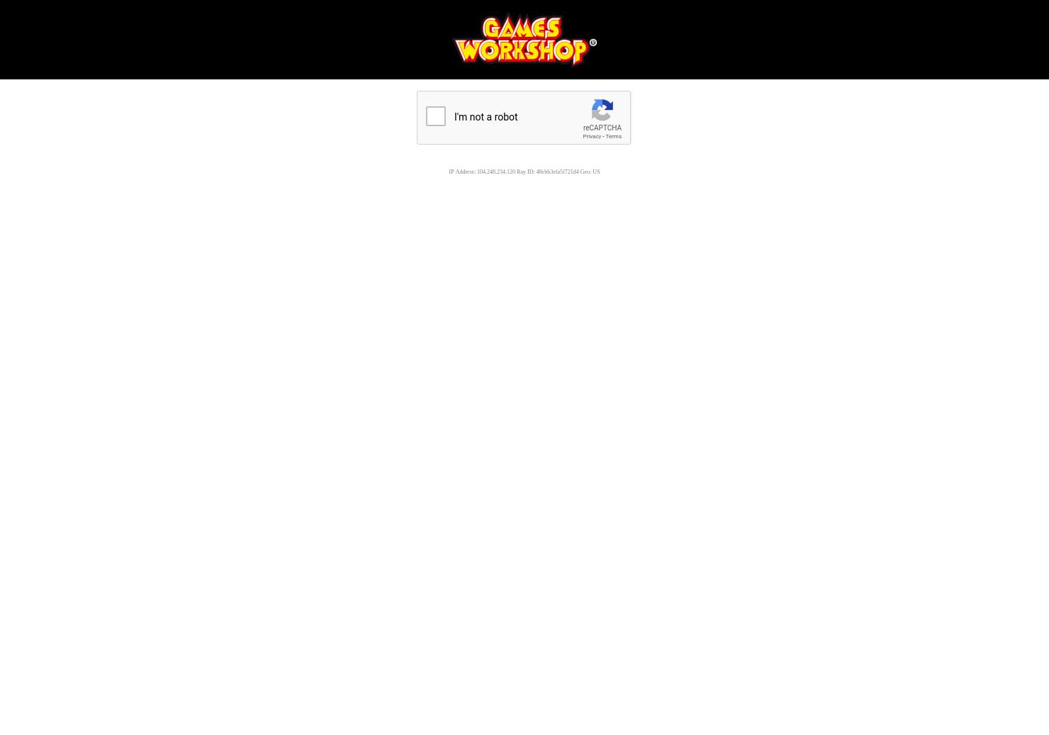 Games Workshop Home Page