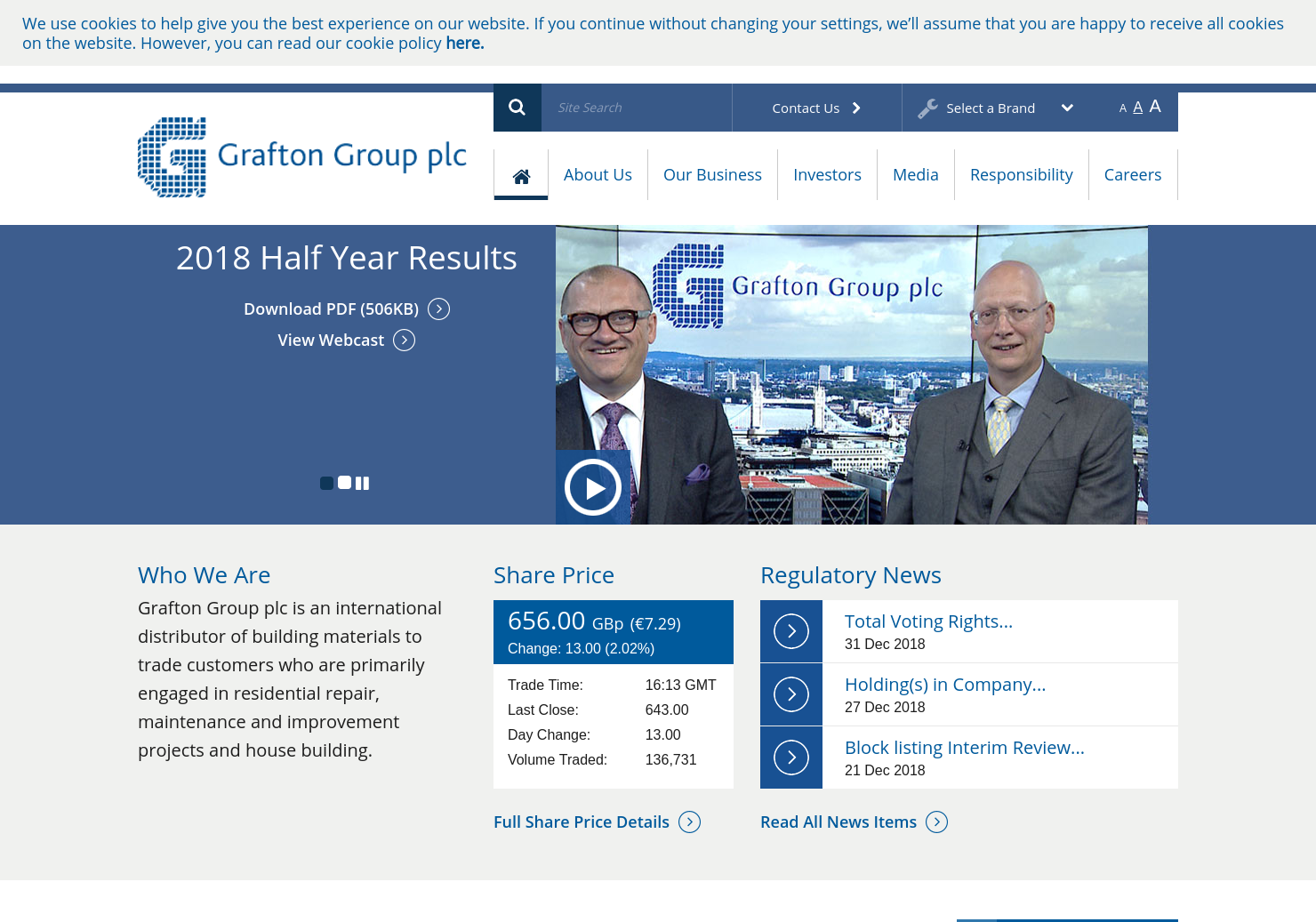 Grafton Group Home Page