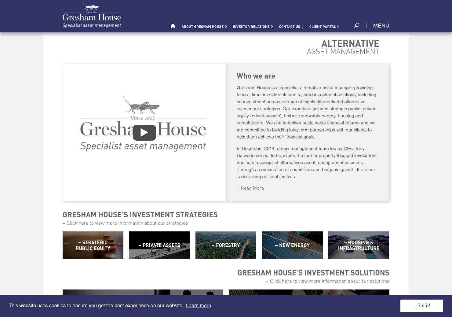 Gresham House  Home Page