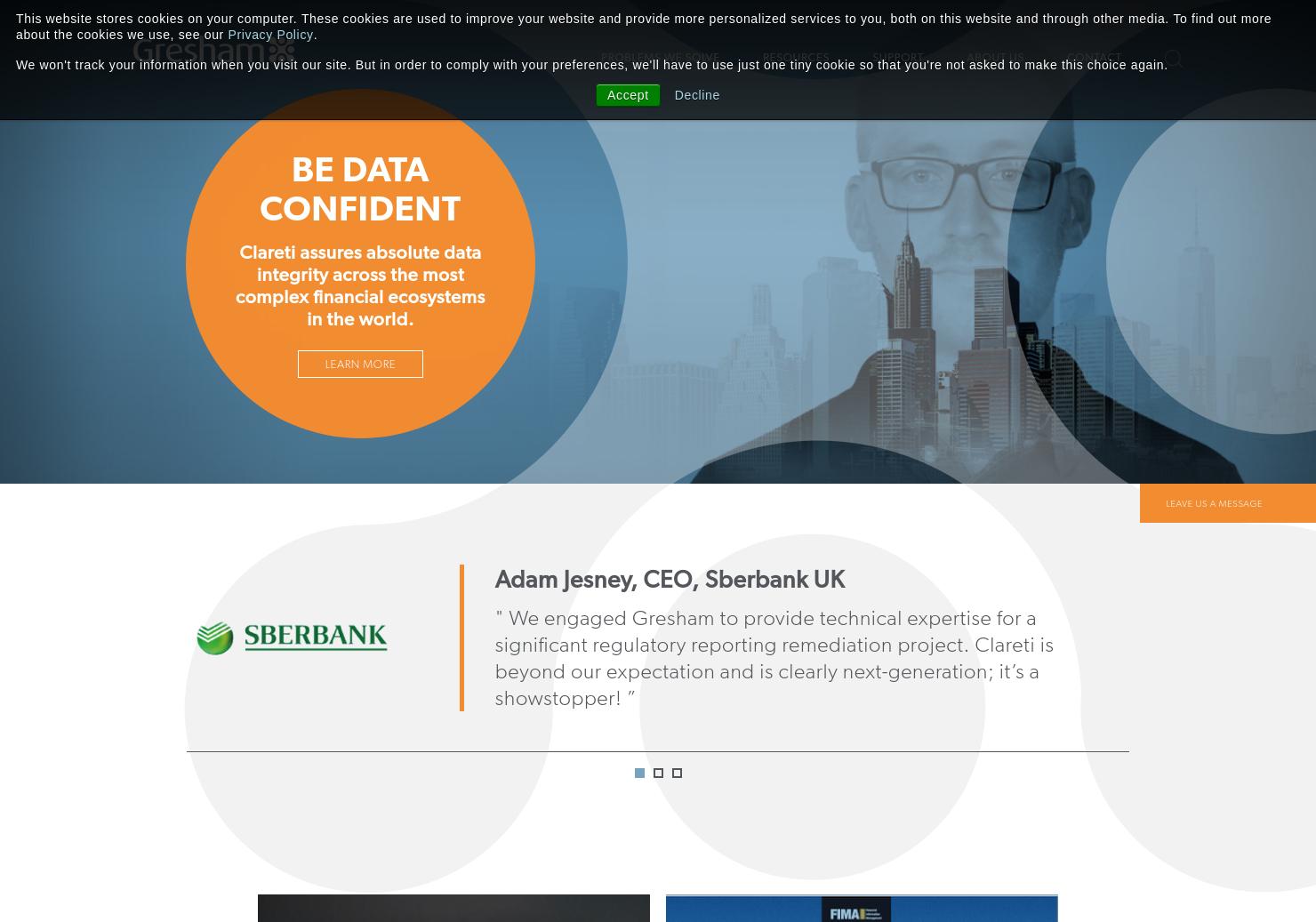 Gresham Home Page