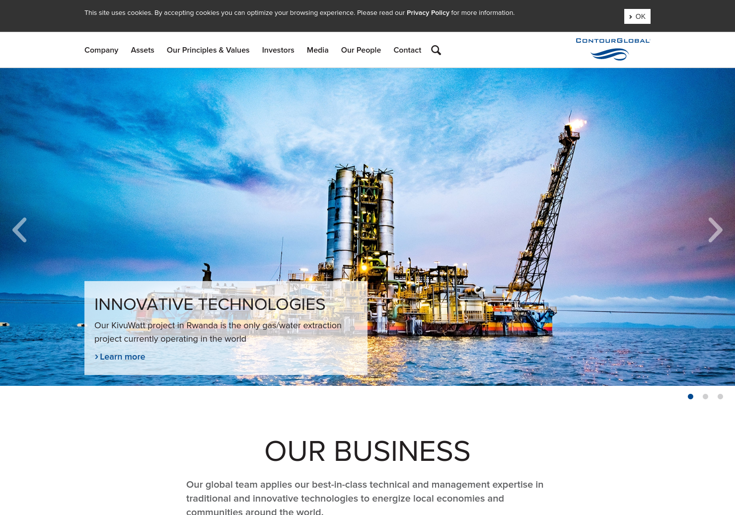 ContourGlobal Home Page