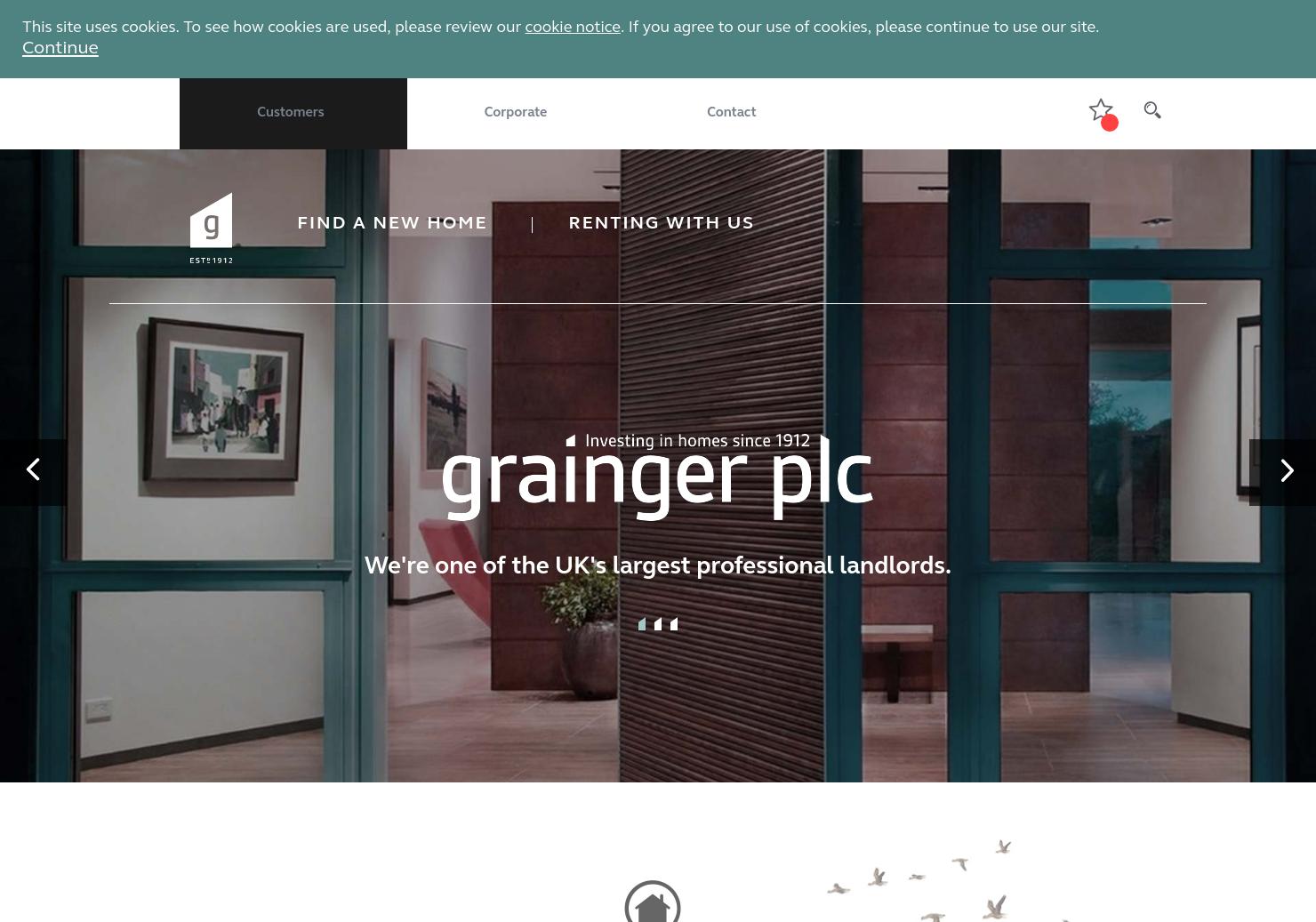 Grainger plc Home Page