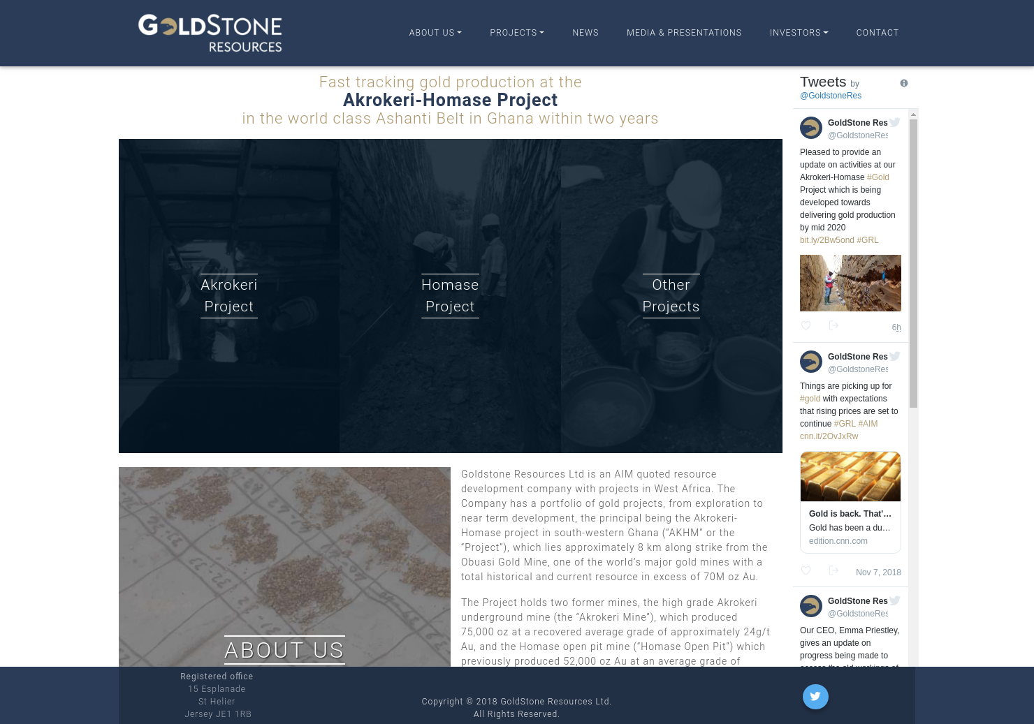 Goldstone Resources Home Page