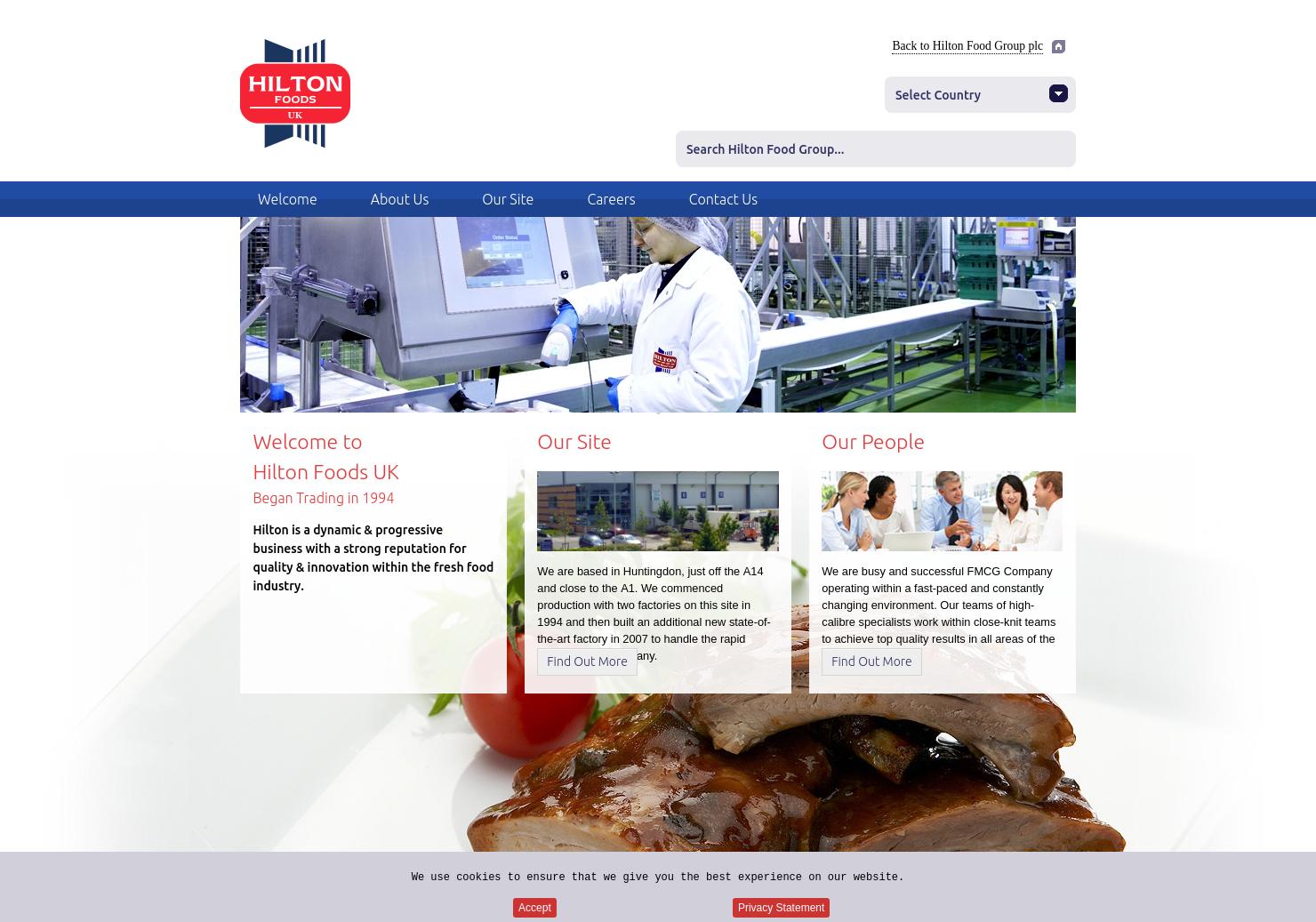 Hilton Foods Home Page