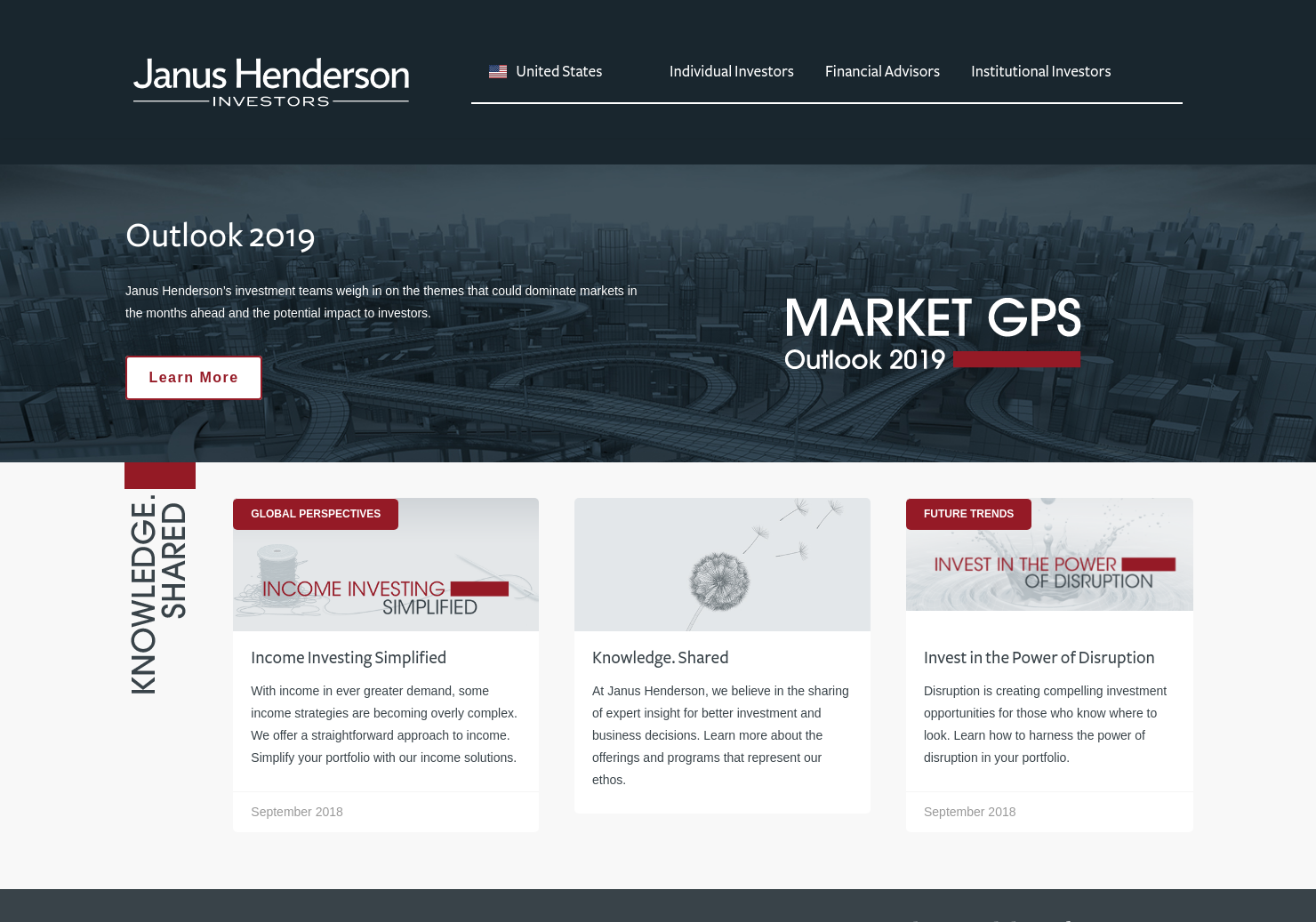 Henderson High Income Trust Home Page