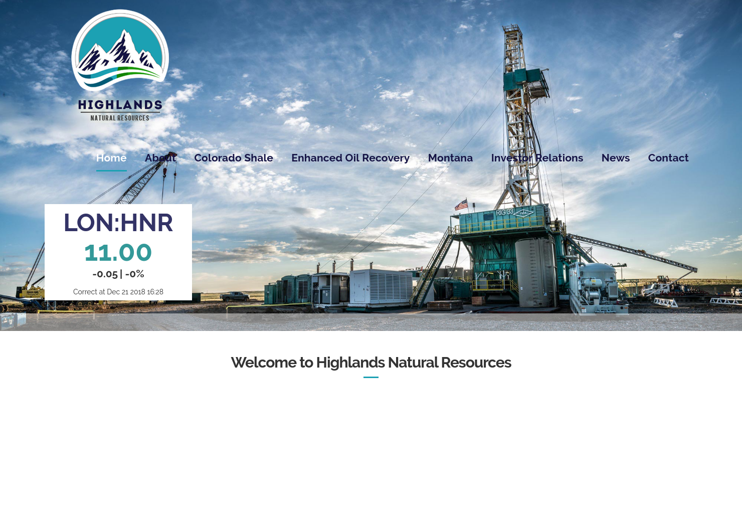 Highlands Natural Resources Home Page