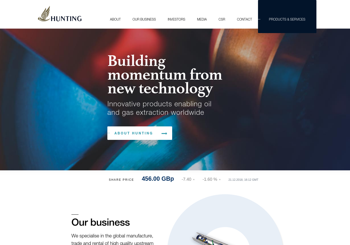 Hunting Home Page
