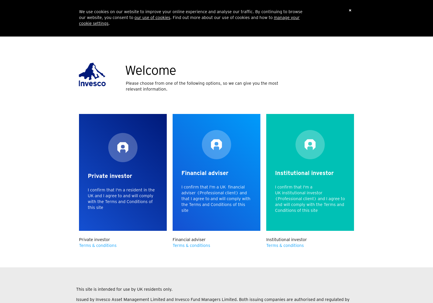 Invesco Asia Home Page