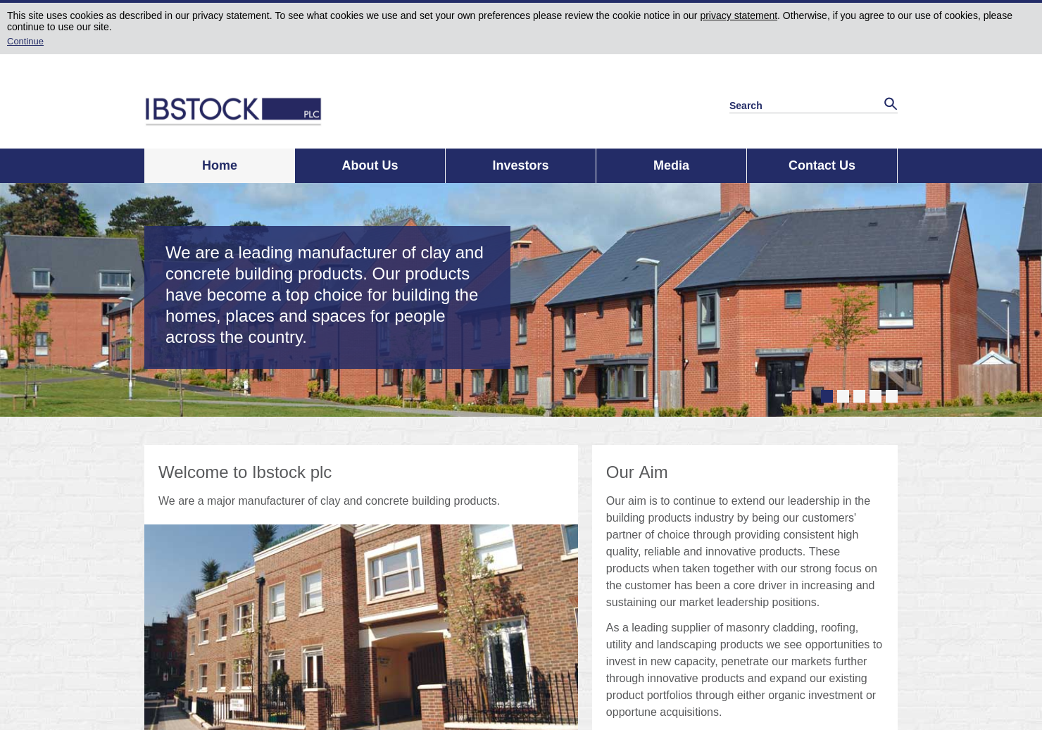 Ibstock Home Page