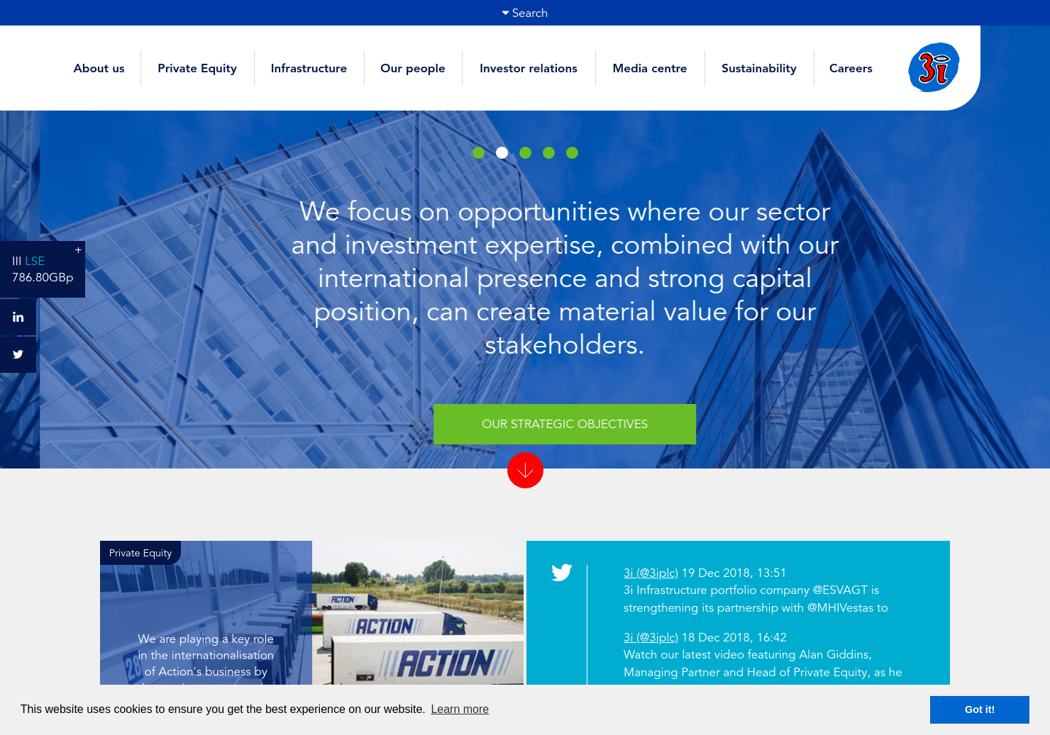 3i Group Home Page