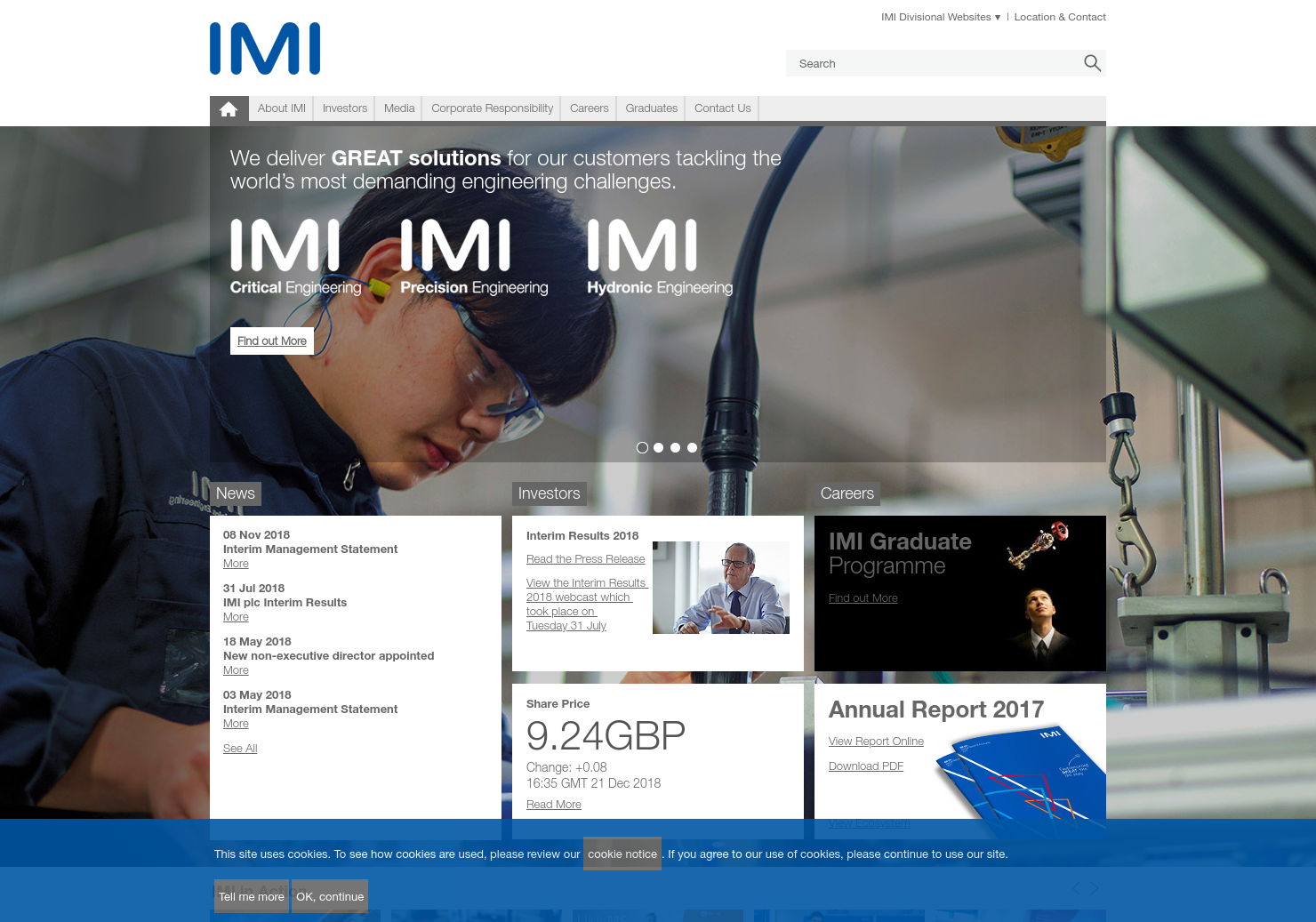 IMI Home Page