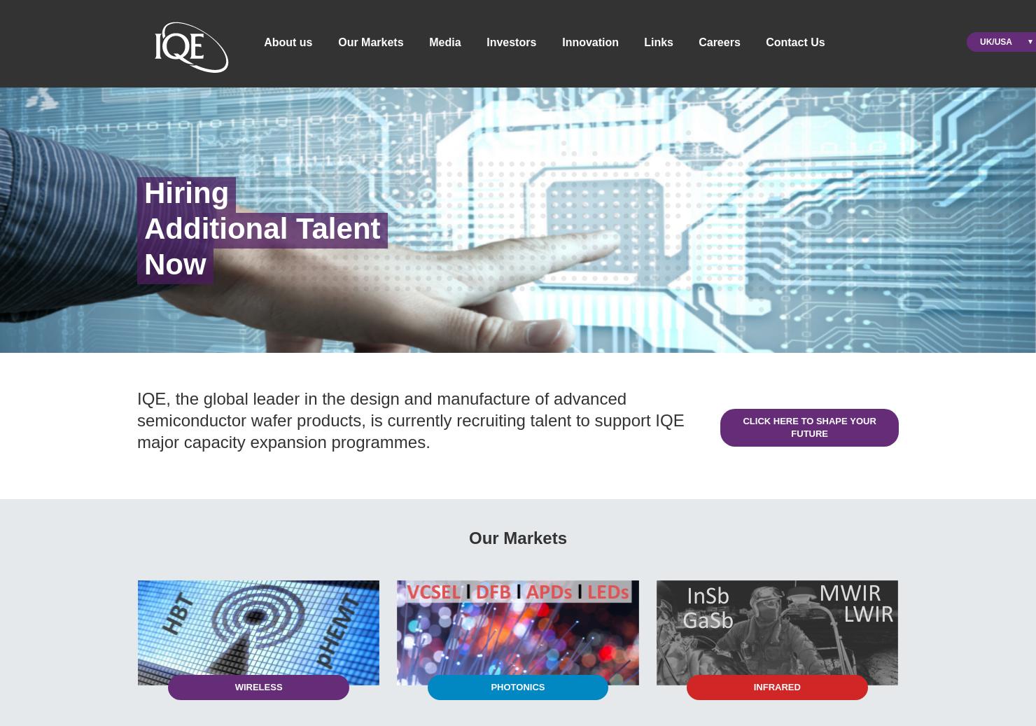 IQE Home Page
