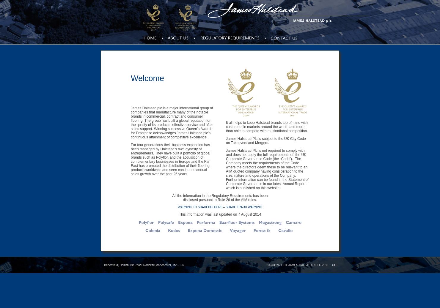 James Halstead Home Page