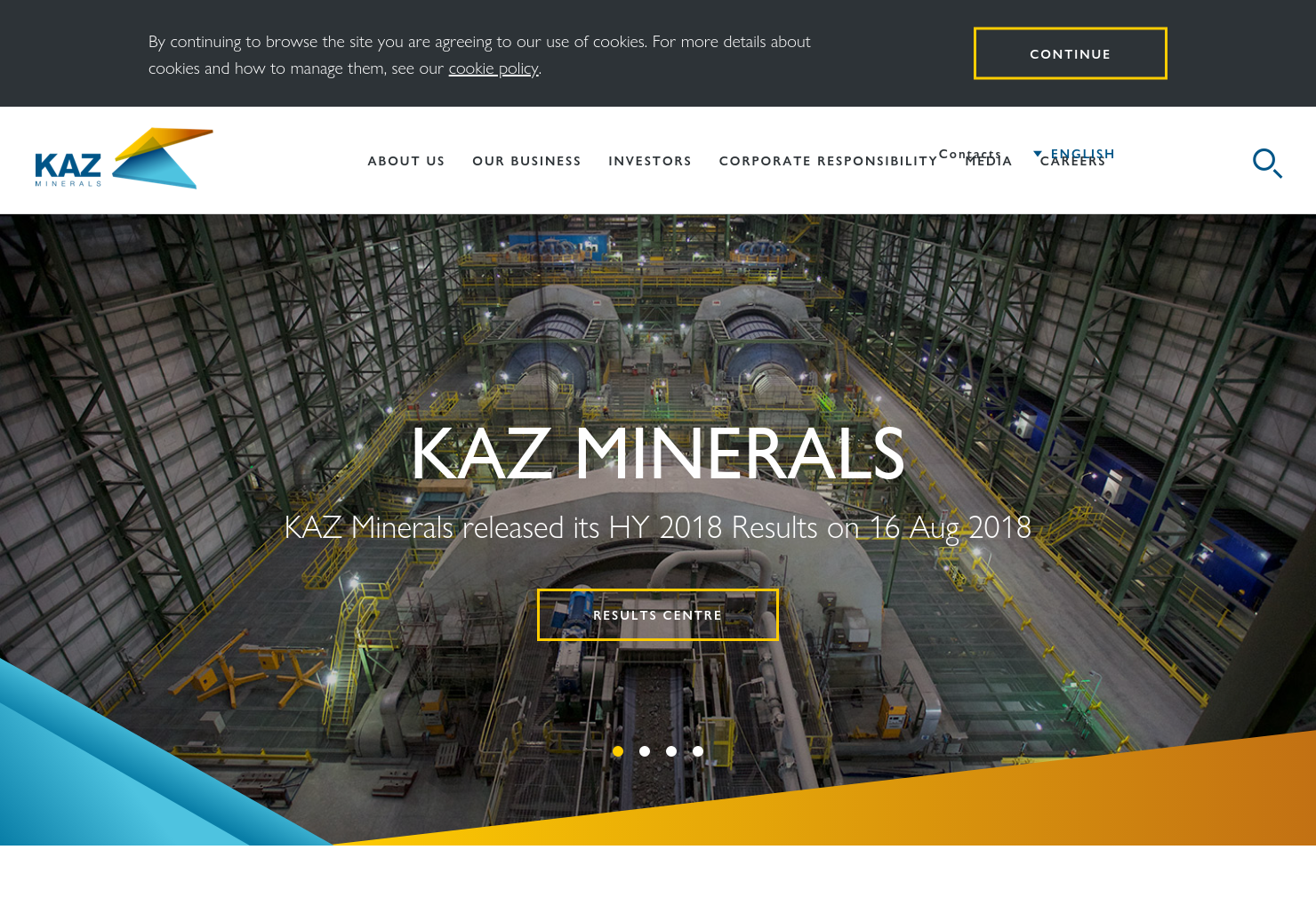KAZ Minerals Home Page