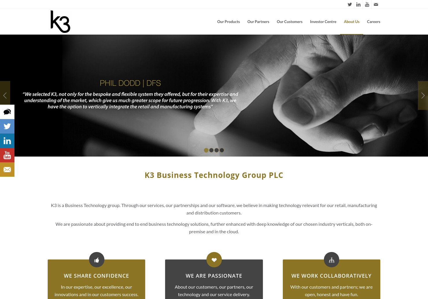 K3 Business Technology Group Home Page