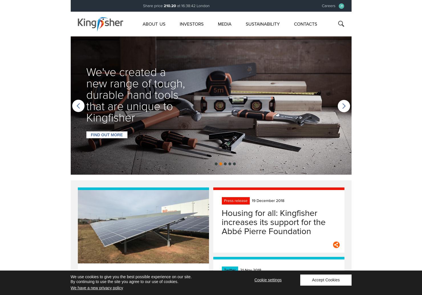 Kingfisher Home Page